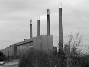 Photo of a thermal power plant