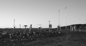 Automatic Weather Station, Cape Dorset, Nunavut