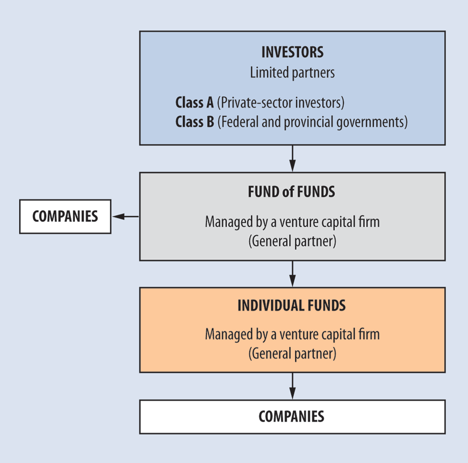 Report 1venture capital action plan diagram describing the fund of funds model pooptronica Images
