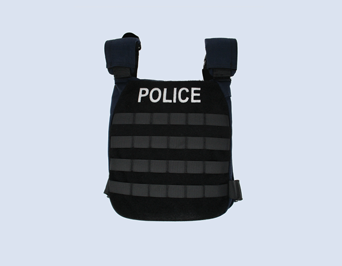 Photo of a hard body armour vest